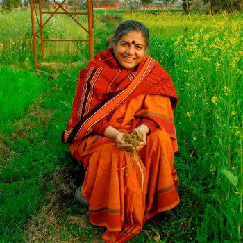 VANDANA SHIVA. Activista ecologista